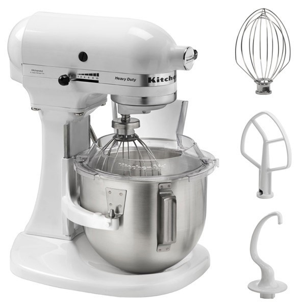 robot de cocina kitchenaid 5kpm5ewh heavy duty 4 8l blanco. Black Bedroom Furniture Sets. Home Design Ideas
