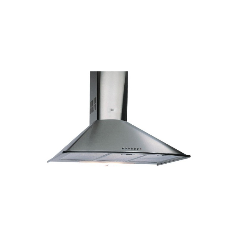Campana extractora decorativa teka dm 60 inox 60cm - Campana extractora decorativa ...